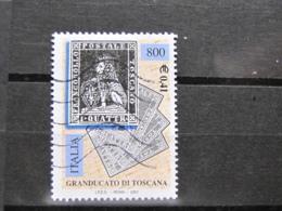 *ITALIA* USATI 2001 - 150° FRANC GRANDUCATO TOSCANA - SASSONE 2529 - LUSSO/FIOR DI STAMPA - 6. 1946-.. Repubblica