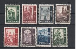 Mi. Nr. 885 - 892 Gestempelt - 1945-.... 2. Republik