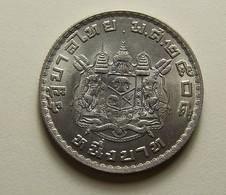 Thailand 1 Baht 1962 Varnished - Thailand