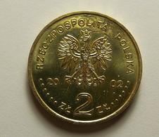 Poland 2 Zlote 2002 Varnished - Pologne