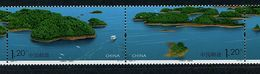 Chine ** N° 4539/4540 Se Tenant - Ilots Du Lac Qiandao - Unused Stamps