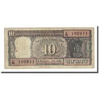 Billet, Inde, 10 Rupees, Undated (1969), KM:69b, TB - Inde