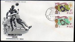 FIJI, 1966 WORLD CUP FDC - Francobolli