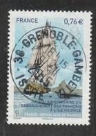 FRANCE 2015- 300è Anniversaire Du Débarquement Des Français à L'Ile Maurice Oblitere YT 4979- - France