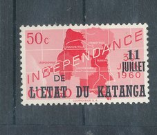 Arts Indigène ModerneN° 44 - Yv - Indépendance Du Katanga - Katanga