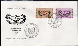 CYPRUS, 1965 ICY FDC - Chypre (République)