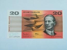 AUSTRALIA 20 DOLLARS - 1974-94 Australia Reserve Bank (paper Notes)