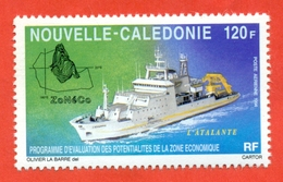Nouvelle Caledonie 1994.  Unused Stamps. - Ships