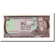 Billet, Colombie, 50 Pesos Oro, 1974-07-20, KM:414, NEUF - Colombie