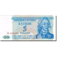 Billet, Transnistrie, 5 Rublei, 1994, 1994, KM:17, SPL - Moldavie