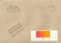 Cachet Manuel De Sainte Foy Tarentaise - Indication PP à La Place Du Jour Et Du Mois - Postmark Collection (Covers)