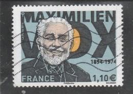 FRANCE 2014 MAXIMILIEN VOX OBLITERE YT 4906 -                                                           TDA24A - France