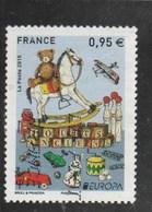 FRANCE EUROPA JOUETS ANCIENS OBLITERE 2015 YT 4953 - France
