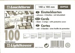 Leuchtturm - CARTES D'ENVOI à CHOIX 3 Bandes Avec Rabat (148x105 Mm) - Cartes De Classement
