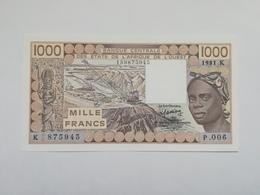 SENEGAL 1000 FRANCS 1981 - Senegal