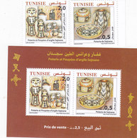 Tunisie New Issue 2018,Puppet Potery 2v. + 1 Souvenir Sheet Compl.MNH - SKRILL PAYMENT ONLY - Tunisia