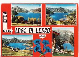 SALUTI DAL LAGO DI LEDRO (TRENTO) - TRENTINO - VEDUTE - 1971 - Saluti Da.../ Gruss Aus...