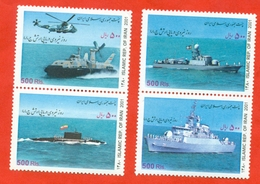 Iran 2001.  Militare Ships.  Unused Stamps. - Ships