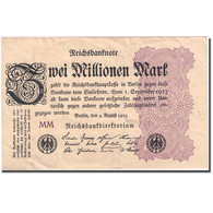 Billet, Allemagne, 2 Millionen Mark, 1923, 1923-08-09, KM:103, TTB - [ 3] 1918-1933 : République De Weimar