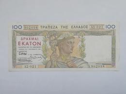 GRECIA 100 DRACME 1935 - Grecia