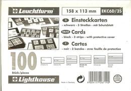 Leuchtturm - CARTES D'ENVOI à CHOIX 3 Bandes Avec Rabat (158x113 Mm) - Cartes De Classement