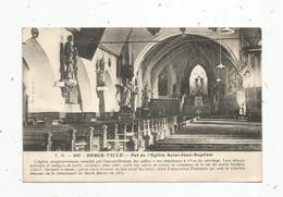 Cp , 62 , BERCK VILLE , église Jean Baptiste , Vierge - Berck
