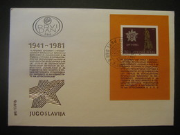 Jugoslawien- FDC Beleg - FDC