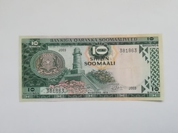 SOMALIA 10 SHILIN 1975 - Somalia