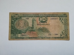 SOMALIA 10 SHILIN 1978 - Somalia