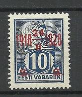 Estland Estonia 1928 Michel 70 MNH - Estonie