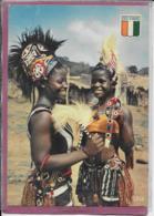 REPUBLIQUE DE COTE D' IVOIRE .- Petites Danseuses Guéré - Côte-d'Ivoire