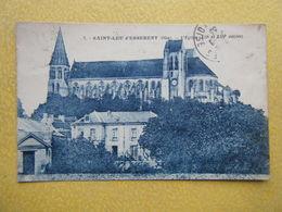 SAINT LEU D'ESSERENT. L'Eglise. - France