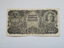AUSTRIA 100 SHILLING 1945 - Austria