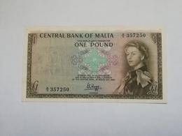 MALTA 1 POUND 1967 - Malte