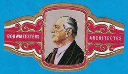 1 BAGUE DE CIGARE GRAND FORMAT BOUWMEESTERS ARCHITECTES L. MIES VAN DER ROHE U.S.A.  E.U.A. (  119 MM ) - Bagues De Cigares