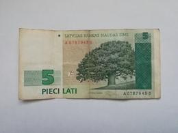 LETTONIA 5 LATI 1992 - Lettonie