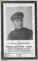 Loos Rene Antoine (gesneuveld Antwerpen 1896 -caeskerke 1916) - Religion & Esotérisme