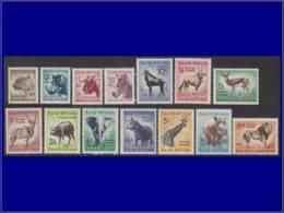 AFRIQUE SUD Poste ** - 201/14, Complet: Animaux - Cote: 65 - Afrique Du Sud (...-1961)