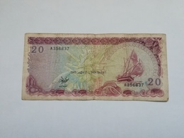 MALDIVE 20 RUFIYAA 1983 - Maldive