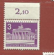 Allemagne Berlin N° 125 A - Neufs
