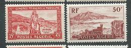 ALGERIE  N°  326/27  **  TB  5 - Algérie (1924-1962)