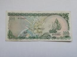 MALDIVE 100 RUFIYAA 1987 - Maldive
