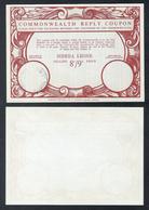 J1) 1930's 1940's Great Britain Colony British Sierra Leone - UPU Postal Stationary IRC Commonwealth Reply Coupon - Sierra Leone (...-1960)