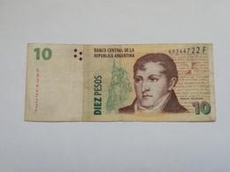 ARGENTINA 10 PESOS - Argentine