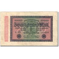 Billet, Allemagne, 20,000 Mark, 1923, 1923-02-20, KM:85a, TTB+ - 20000 Mark
