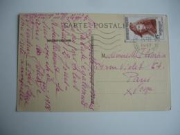 Timbre 15 F Rembrandt Seul Sur Lettre Paris Tri 16 - Postmark Collection (Covers)