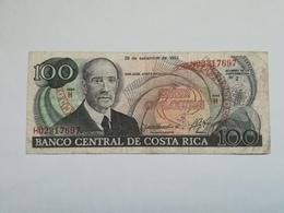 COSTA RICA 100 COLONES 1993 - Costa Rica
