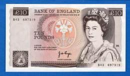 Uk  10  Pounds  1975/1980   Neuf - 1952-… : Elizabeth II