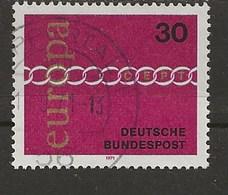 1971-Europa. - Oblitérés