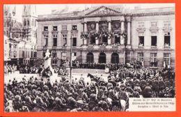 X51189 CHÂLONS-sur-MARNE (51) Arrivée Du 5eme Régiment De CHASSEURS Réception à L' Hôtel De Ville 1910s - Châlons-sur-Marne